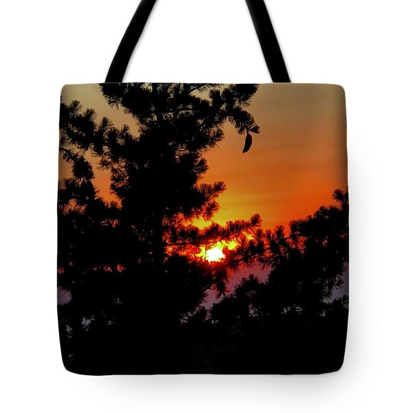 Shangrila Sunset Tote Bag by Jack Eadon