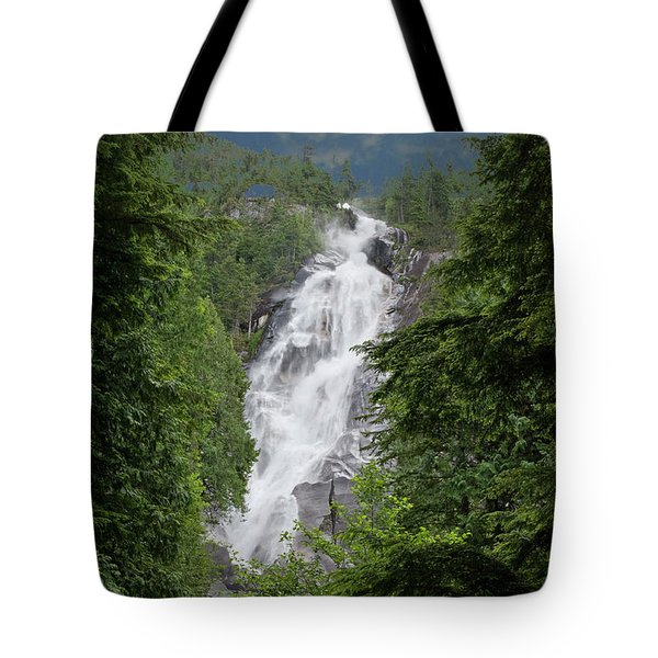 Tote Bag featuring the photograph Shannon Falls by Rod Wiens