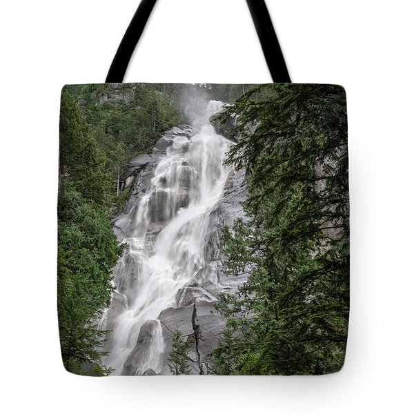 Tote Bag featuring the photograph Shannon Falls by Ross G Strachan