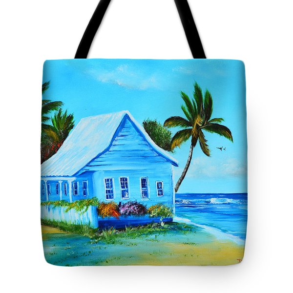 Shanty In Jamaica Tote Bag