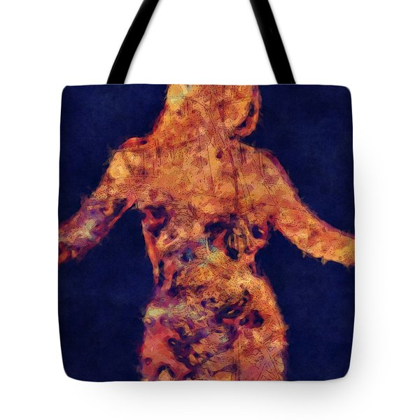 Shape Of A Woman Tote Bag