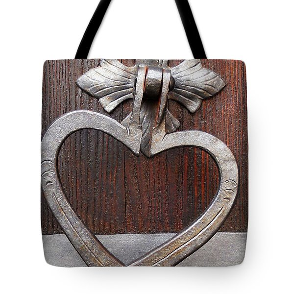 Tote Bag featuring the photograph Shape Of My Heart by Juergen Weiss