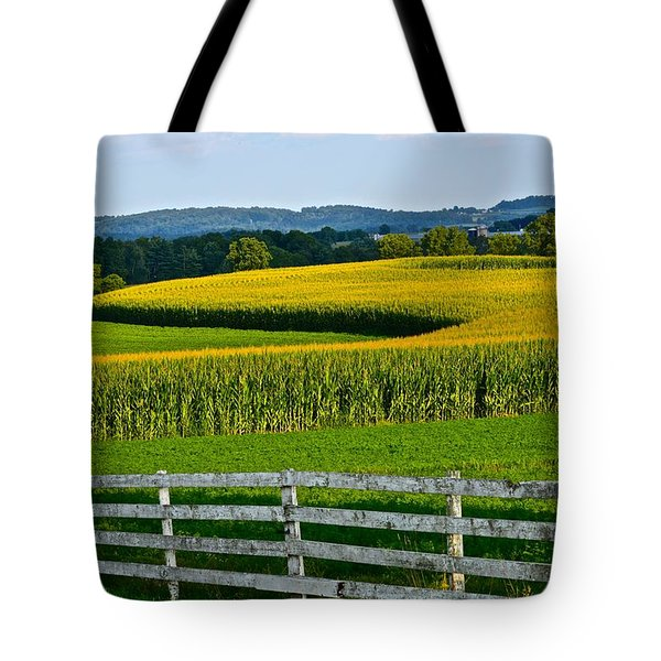 Shapely Cornfield 1 Tote Bag