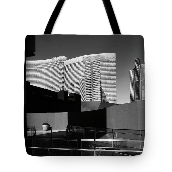 Shapes And Shadows 3720 Tote Bag