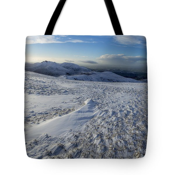 Shapes In The Ice And Far Away Tote Bag