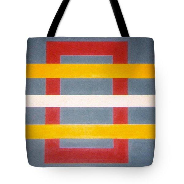 Shapes Tote Bag by James McAdams