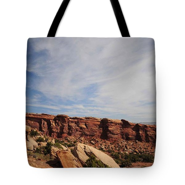 Shapes Tote Bag by Kathleen Struckle