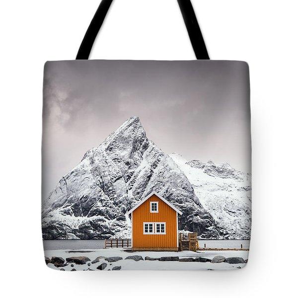 Shapes Of Lofoten Tote Bag