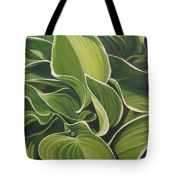 Shapes That Go Together Tote Bag by Hunter Jay