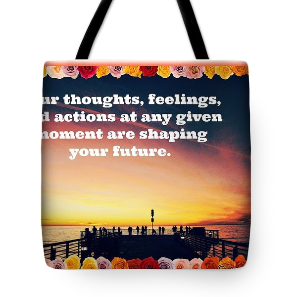 Shaping Your Future Tote Bag