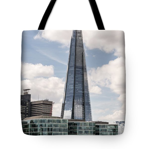 Shard Building In London Tote Bag
