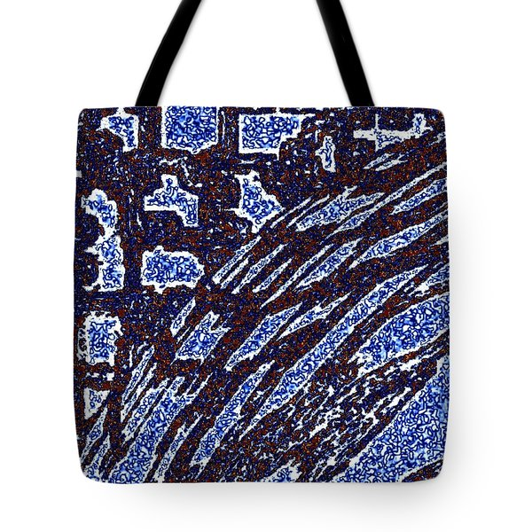 Shards And Pieces Tote Bag by Will Borden