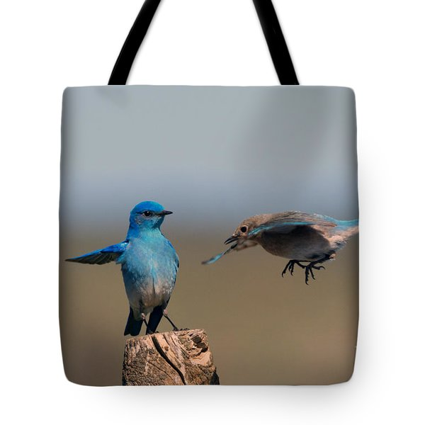 Share My Post Tote Bag by Mike Dawson
