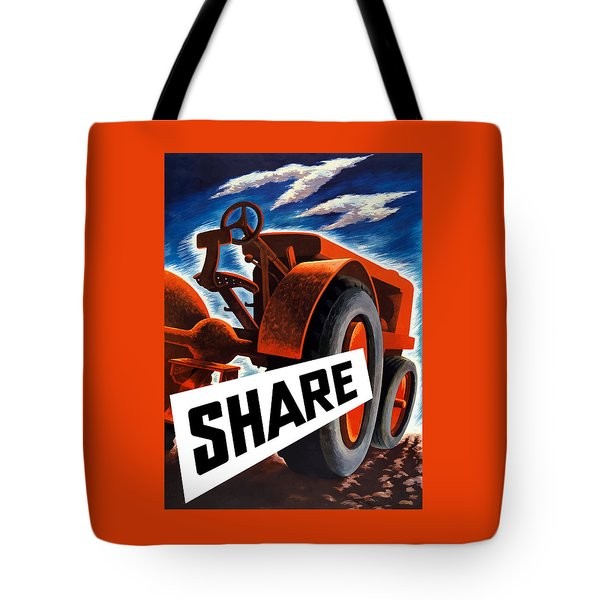 Share  Tote Bag by War Is Hell Store
