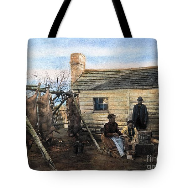 Sharecropper Family, 1900 Tote Bag