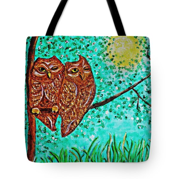 Shared Moonlight Tote Bag by Sarah Loft