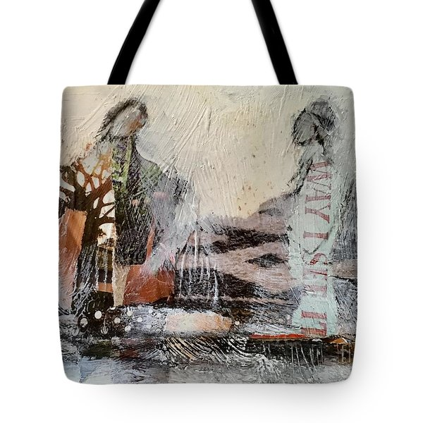 Shared Past Tote Bag