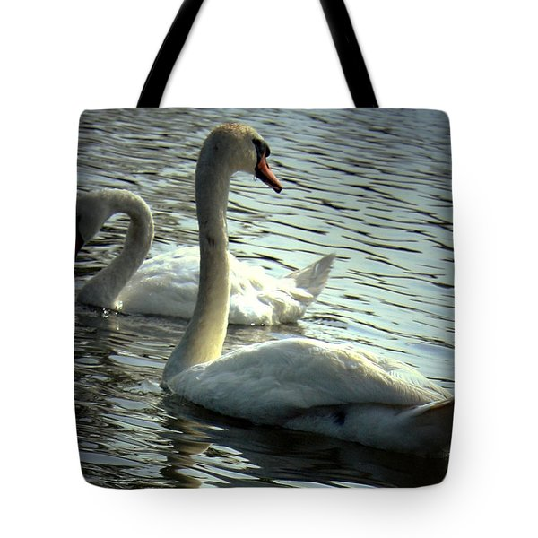 Sharing A Moment Tote Bag by Mikki Cucuzzo