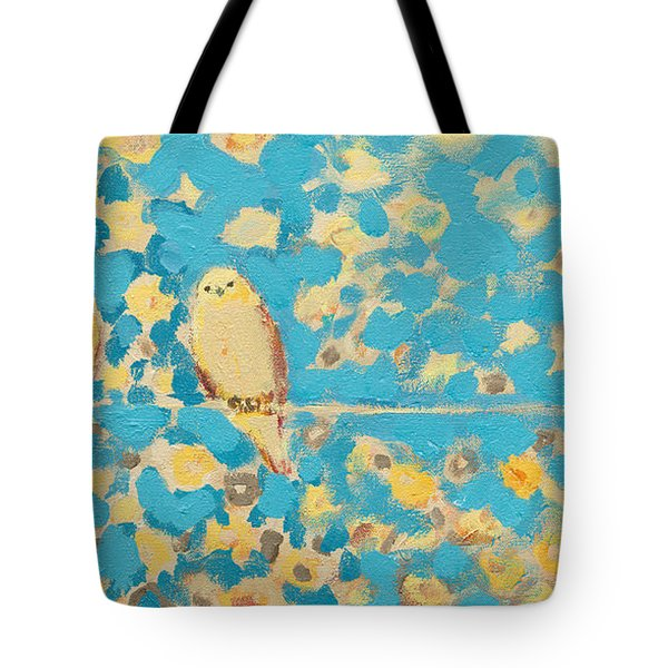 Sharing A Sunny Perch Tote Bag