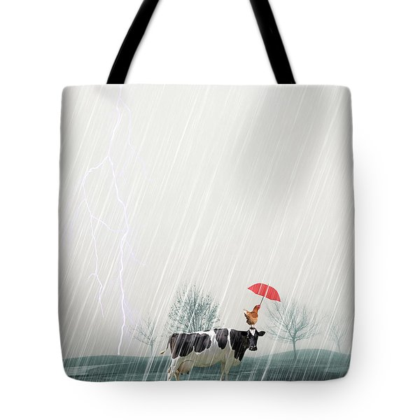 Sharing Tote Bag by James Bethanis