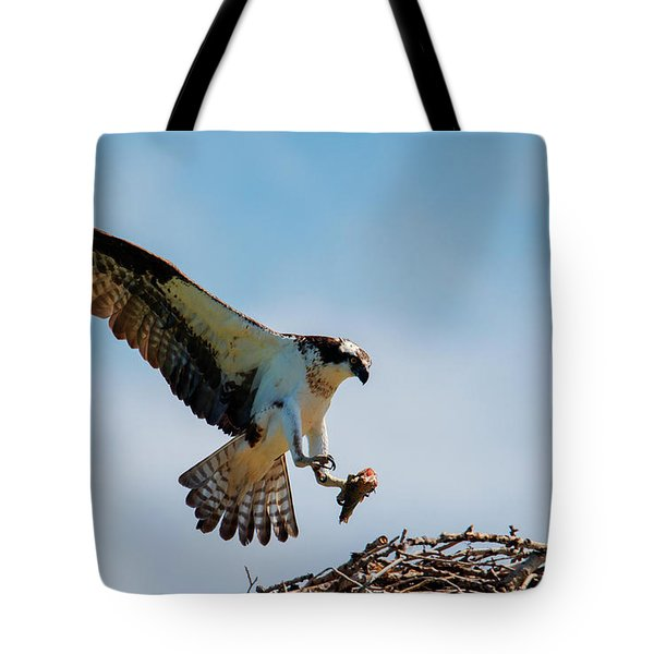 Sharing Lunch Tote Bag