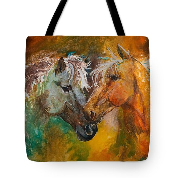 Sharing Secrets Tote Bag by Sherry Shipley
