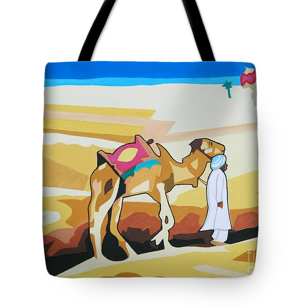 Sharing The Journey Tote Bag by Ragunath Venkatraman