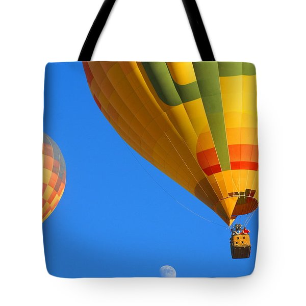 Sharing The Sky Tote Bag