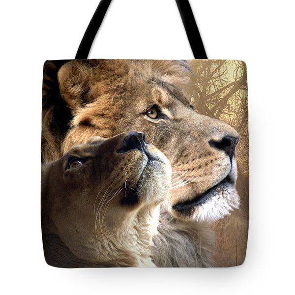 Sharing The Vision Tote Bag