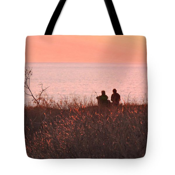 Sharing Tranquility Tote Bag