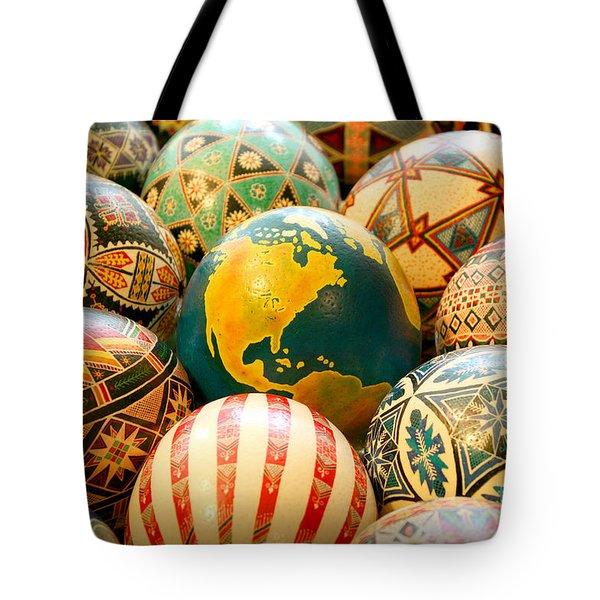 Shari's Ostrich Eggs Tote Bag