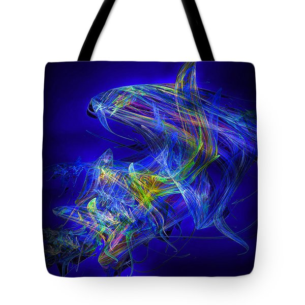 Shark Beauty Tote Bag by Michael Durst