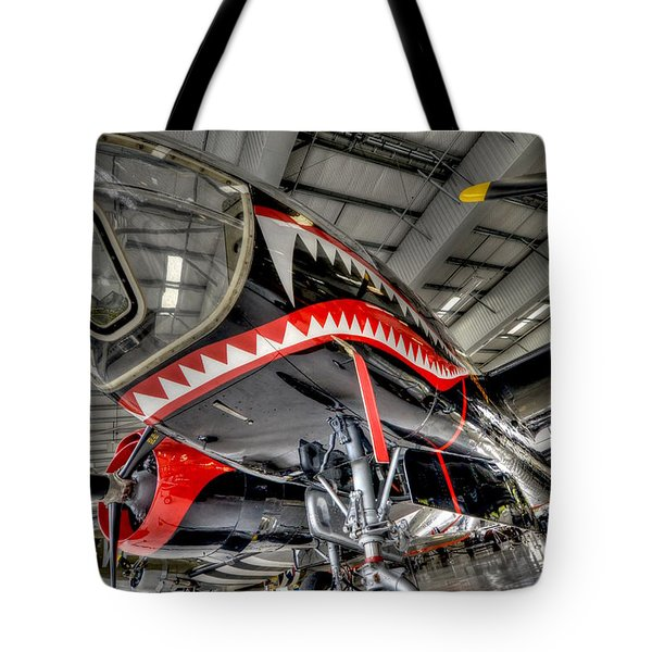 Shark Bite 2 Tote Bag