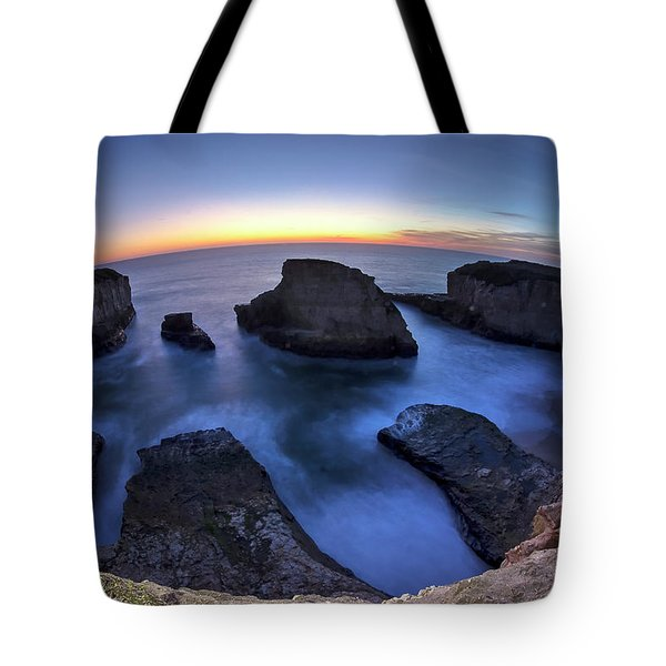 Shark Fin Cove Tote Bag