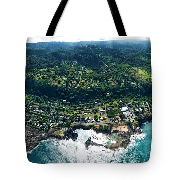Sharks Cove Overview. Tote Bag