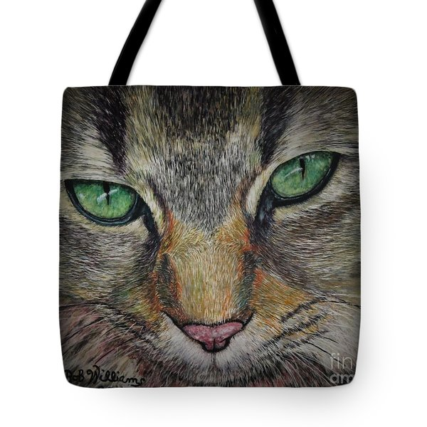 Sharna Eyes Tote Bag