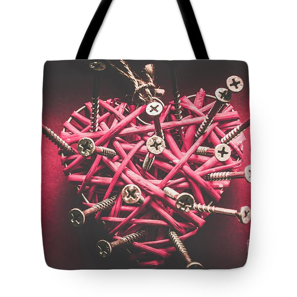 Sharp Pains Of Heartbreak Tote Bag