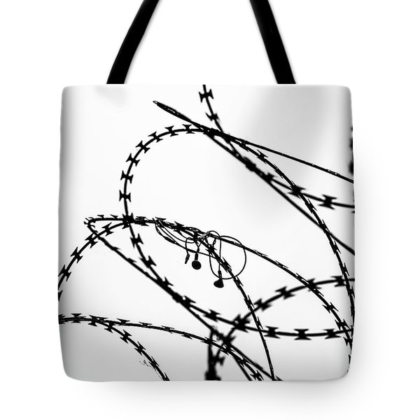 Tote Bag featuring the photograph Sharp Sound by Clare Bambers