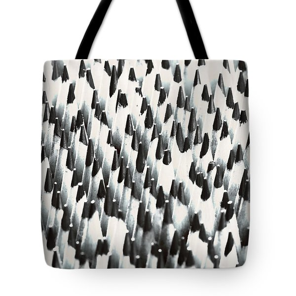 Sharp Wooden Pencils Tote Bag