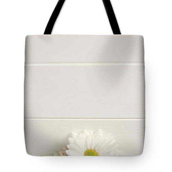 Shasta Daisies Cropped 1 Tote Bag