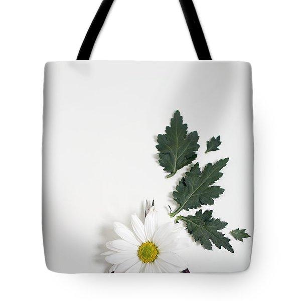 Shasta Daisy Still Life Tote Bag