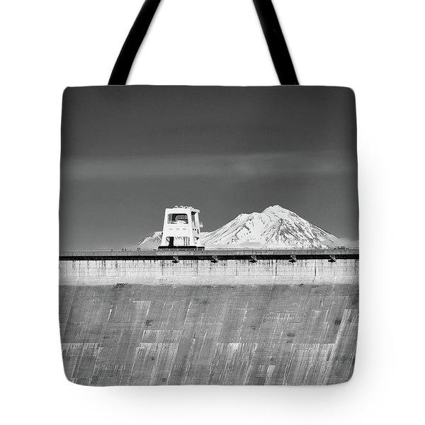 Shasta Dam  Tote Bag