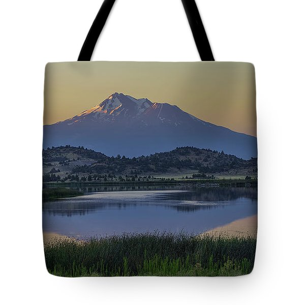 Shasta In The Morning Tote Bag