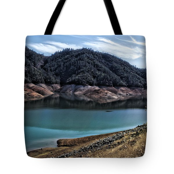 Shasta Lake Tote Bag
