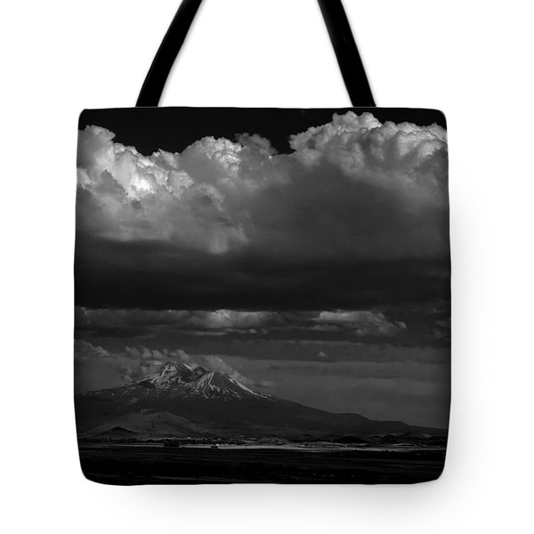 Tote Bag featuring the photograph Shasta On July 17 by John Norman Stewart
