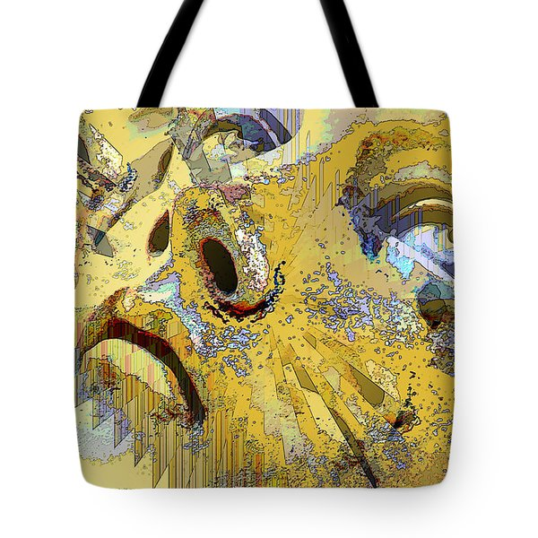 Shattered Illusions Tote Bag