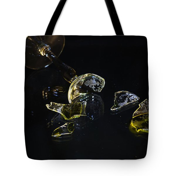 Tote Bag featuring the photograph Shattered Illusions by Susan Capuano