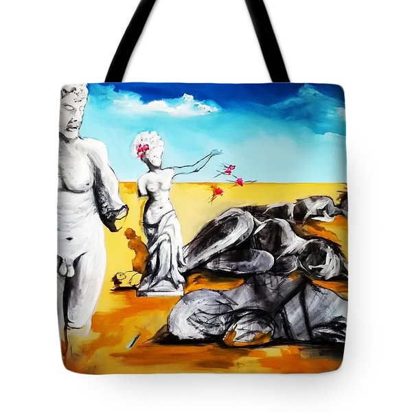 Shattered Limbs To Shattered Souls Tote Bag