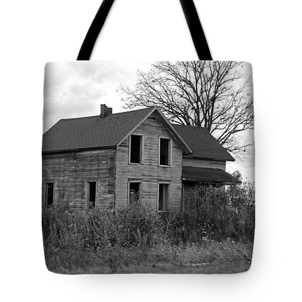 Shattered Ties Tote Bag