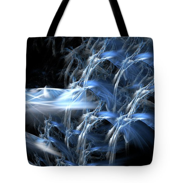 Shattering The Cosmos Tote Bag by Jeremy Nicholas